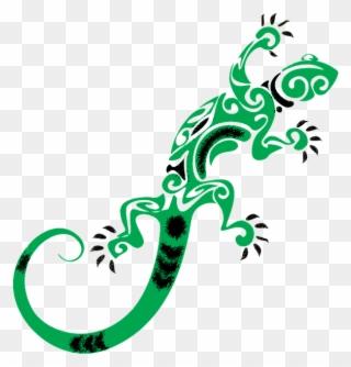 replies retweets likes. Gecko clipart tribal