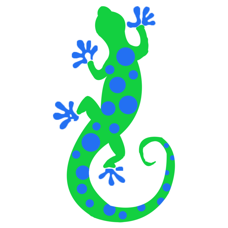Willis elementary p t. Gecko clipart turquoise