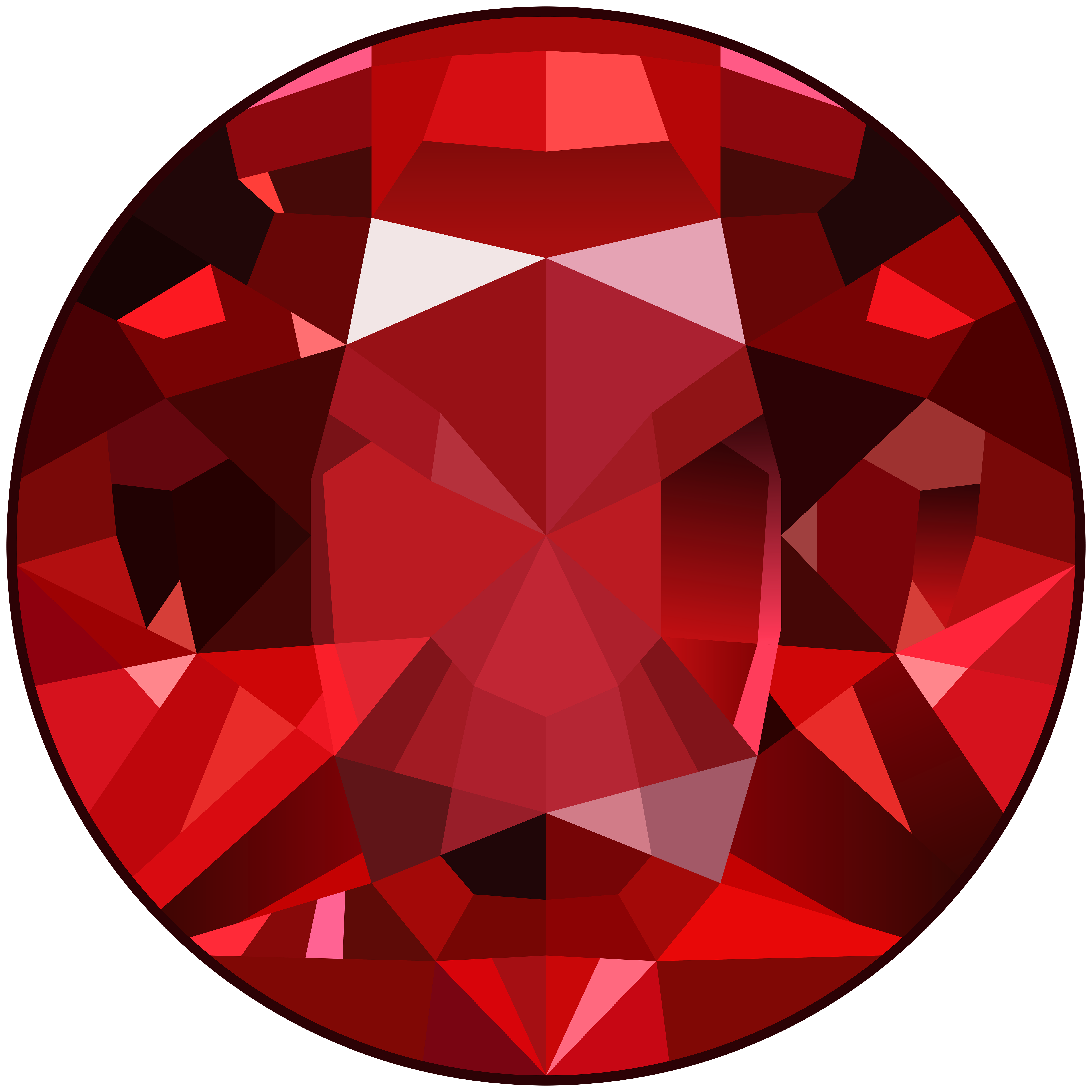 Gem clipart. Red png clip art