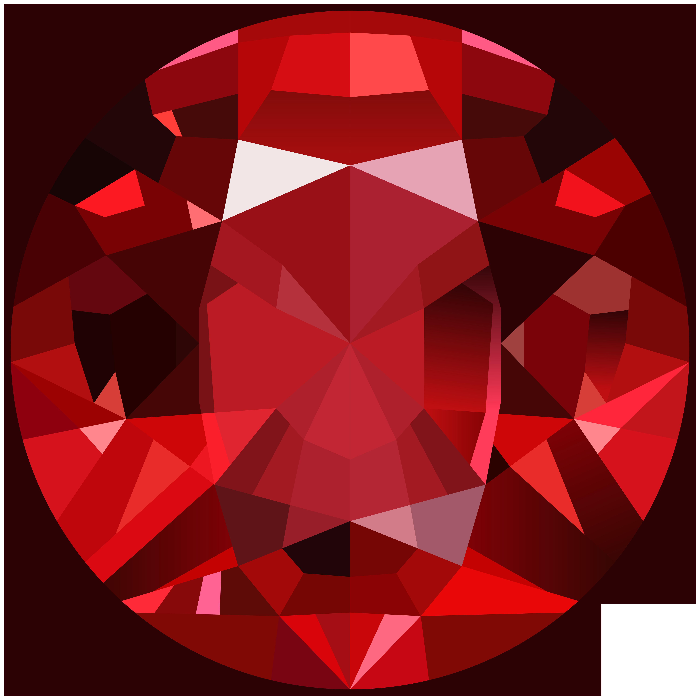 Red png clip art. Gem clipart