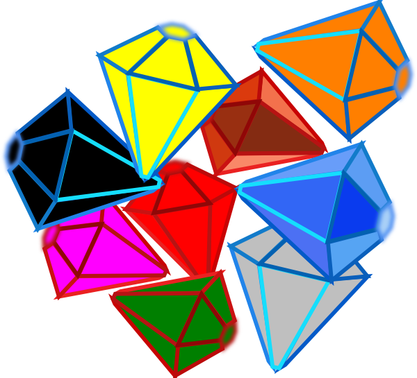 Square clipart jewel. Gems clip art at