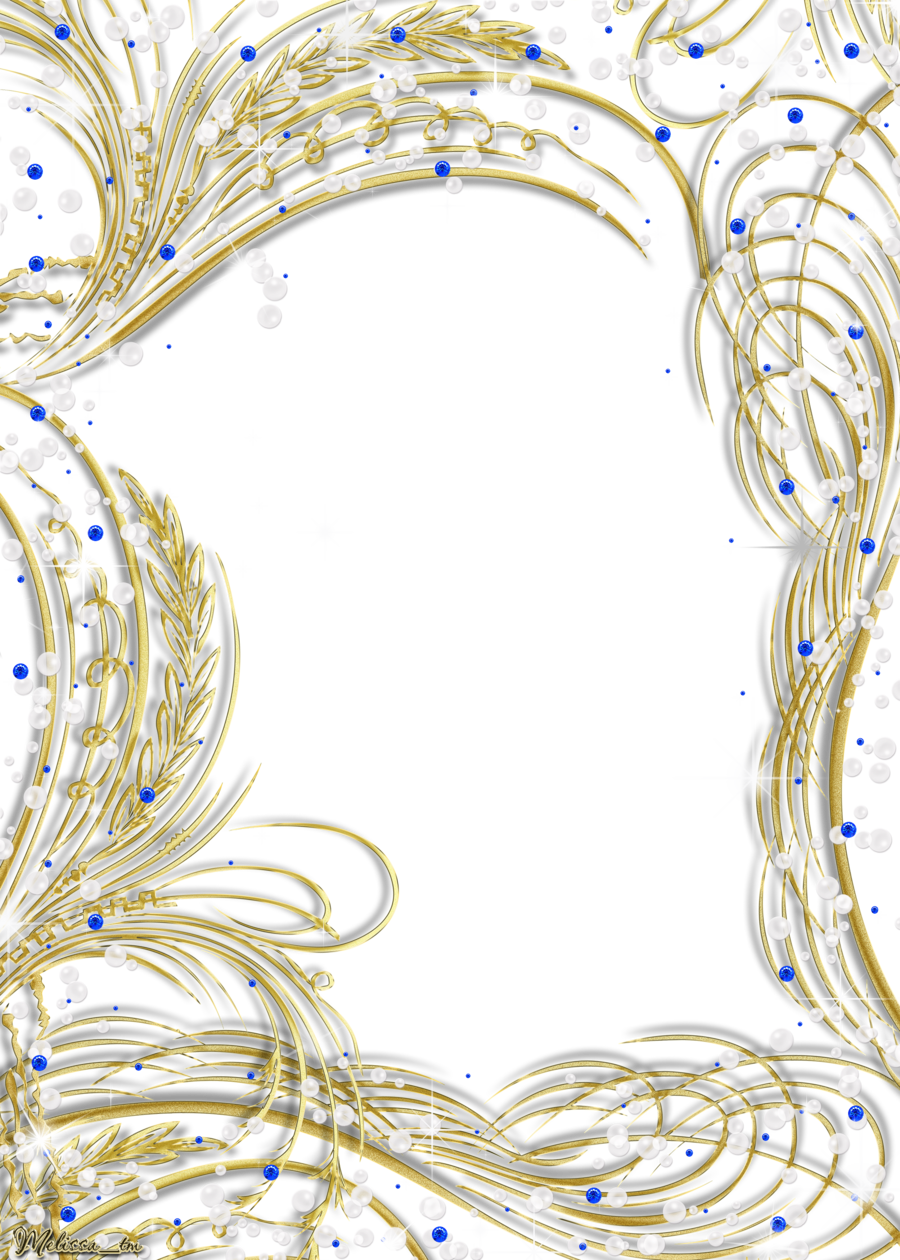 Frame with gems and. Ladder clipart golden