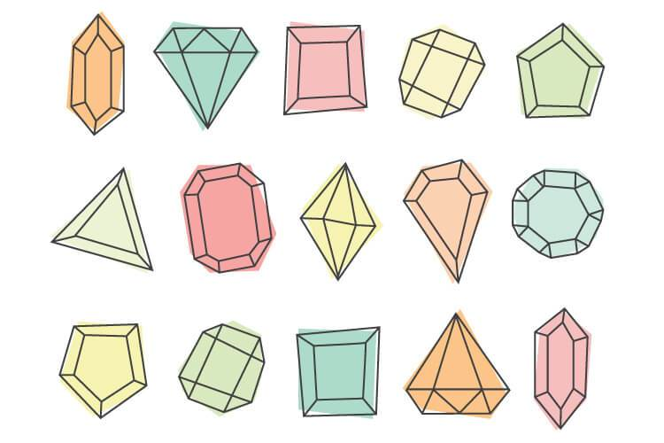 Gem clipart colorful thing. Free clip art printables