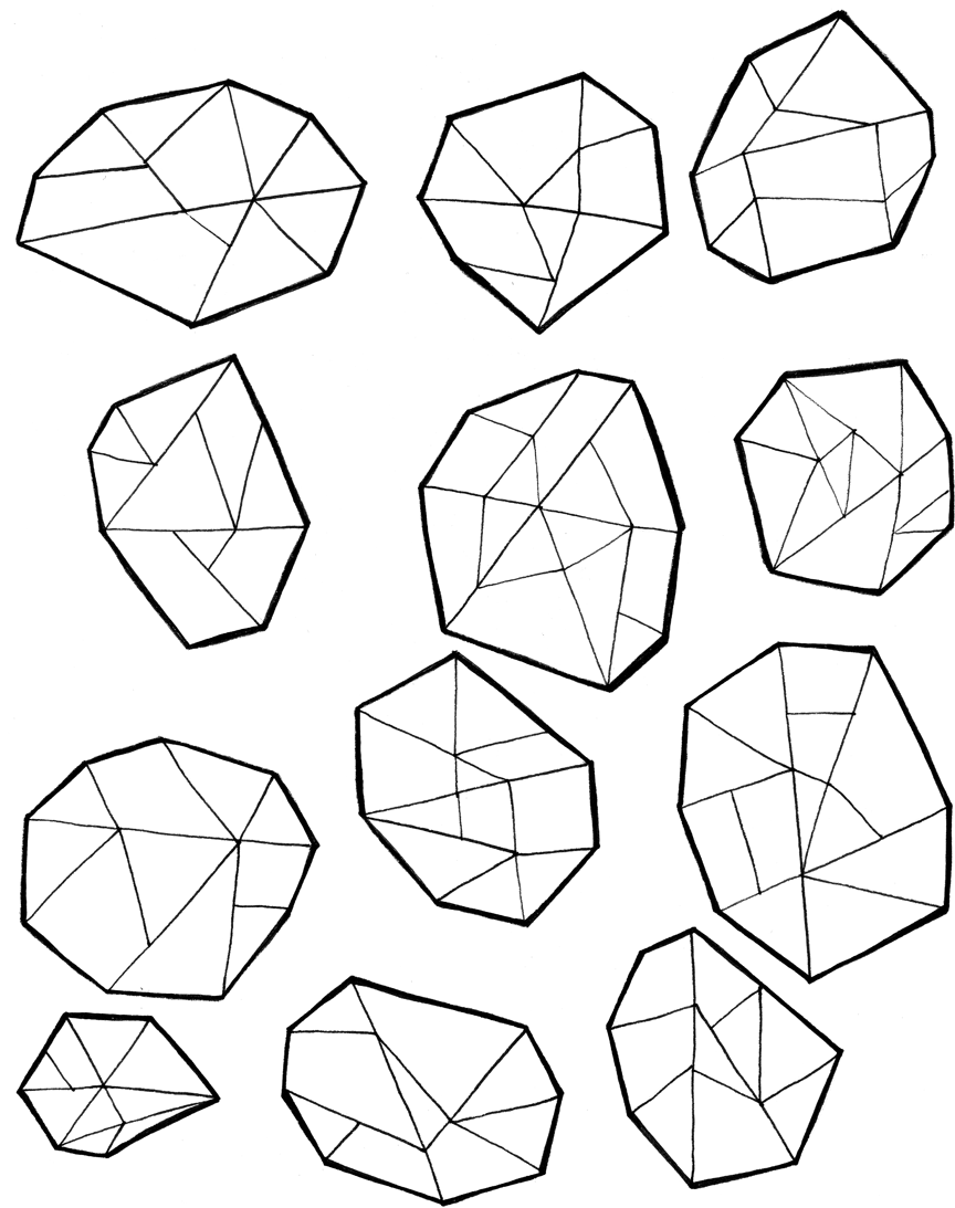 Gems i love fun. Gem clipart coloring page