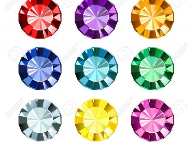 Free gems download clip. Gem clipart colourful