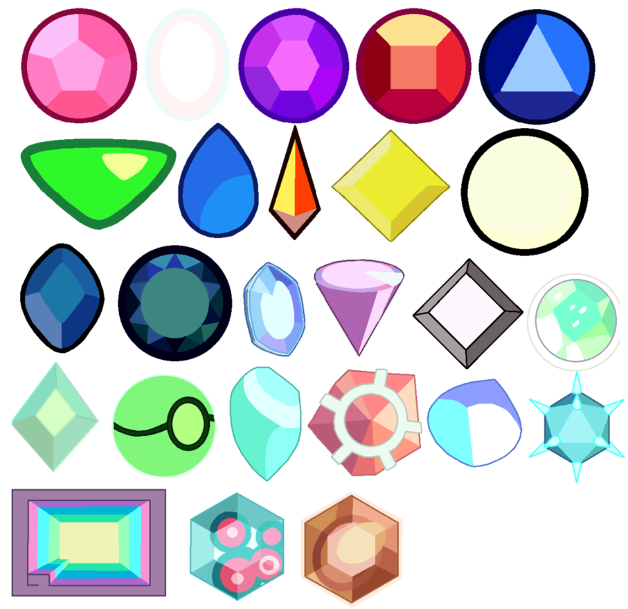 Gacha closed by anklesupport. Gem clipart colourful