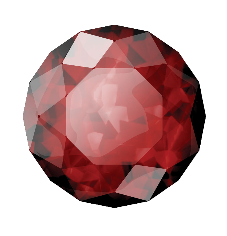 Gem clipart crystal. Download ruby stone free