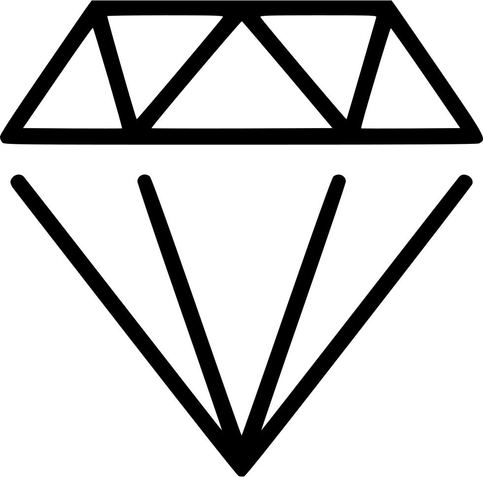 Gem clipart diamond outline. Gems gemstones svg png