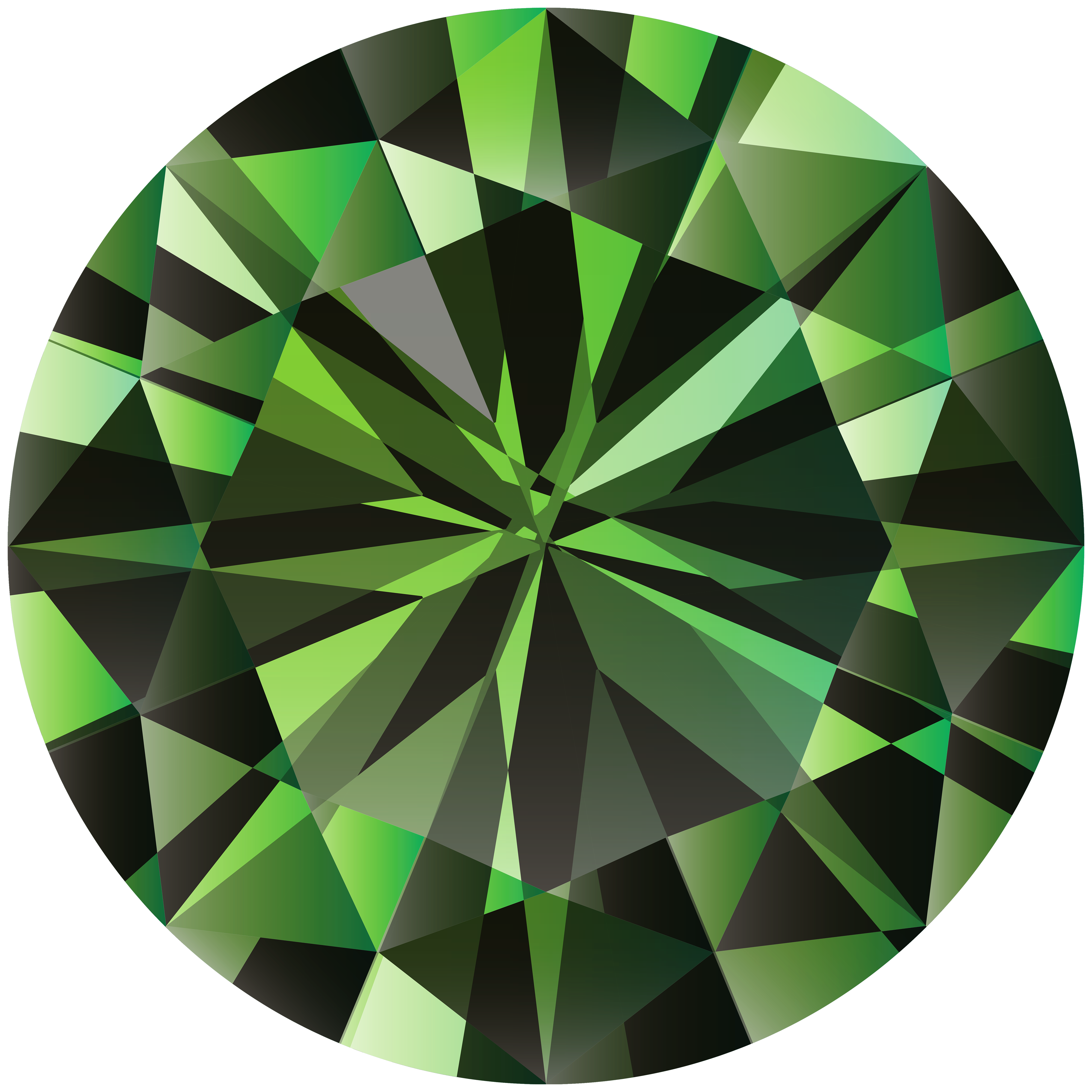 Collection of free gems. Picture clipart green