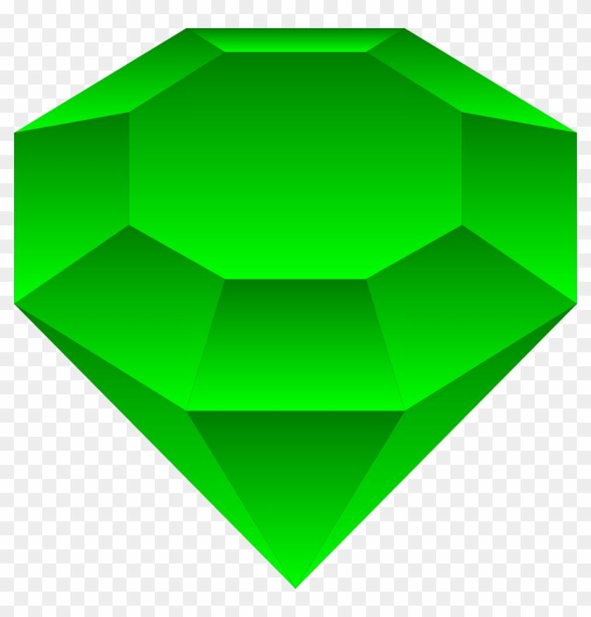Emerald emmy a clip. Gem clipart green