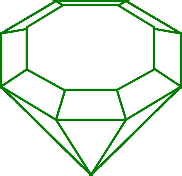 Gem clipart green. Black clip art at