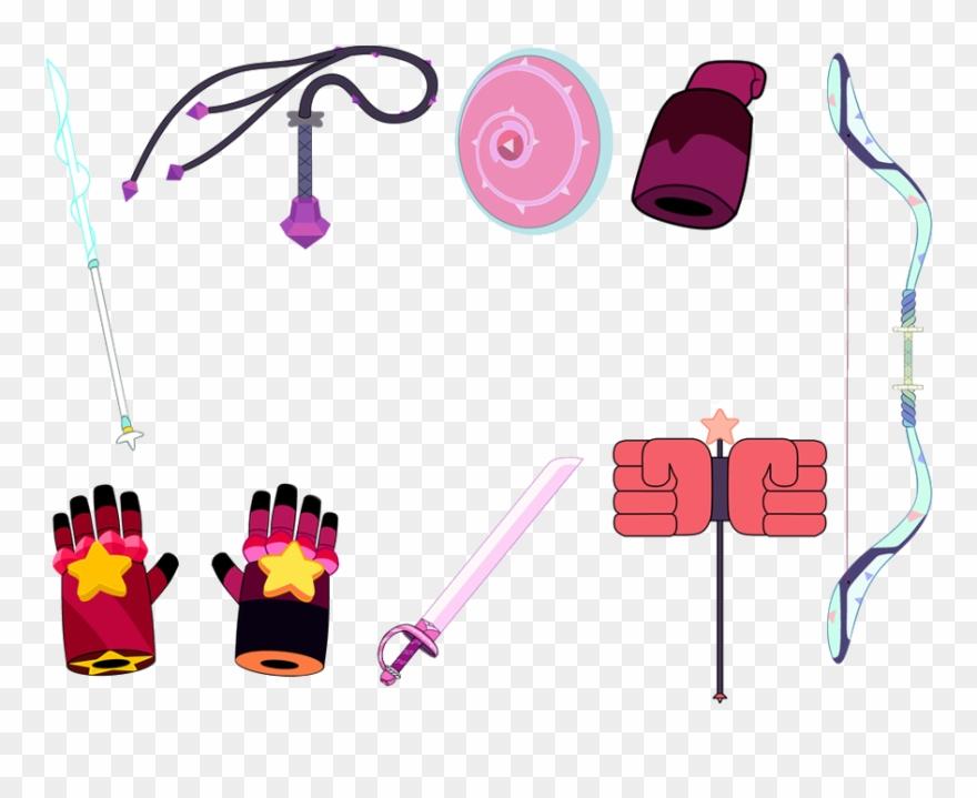 Gems steven universe weapons. Gem clipart hard object