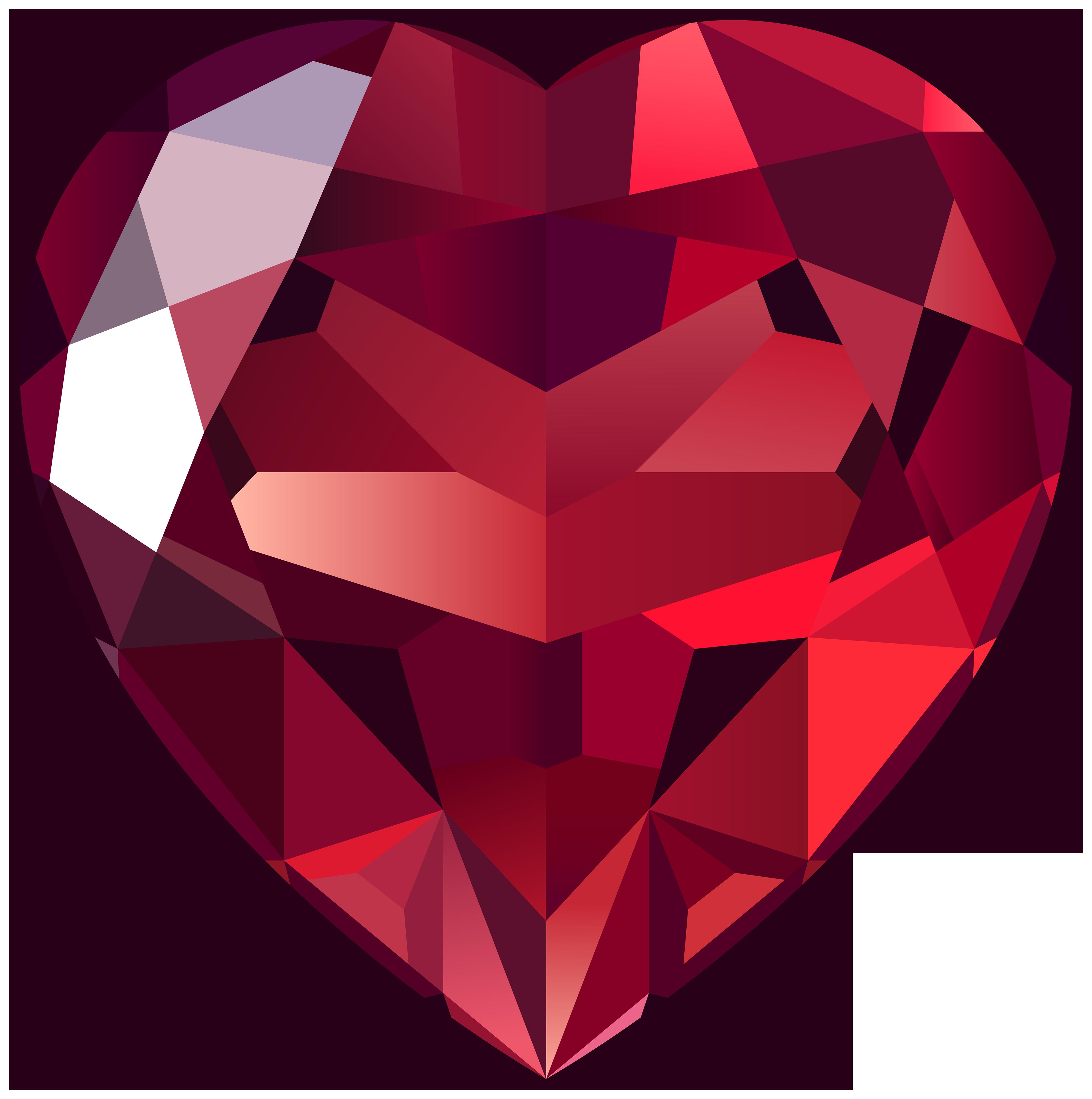 Gem clipart heart. Pin by hopeless on