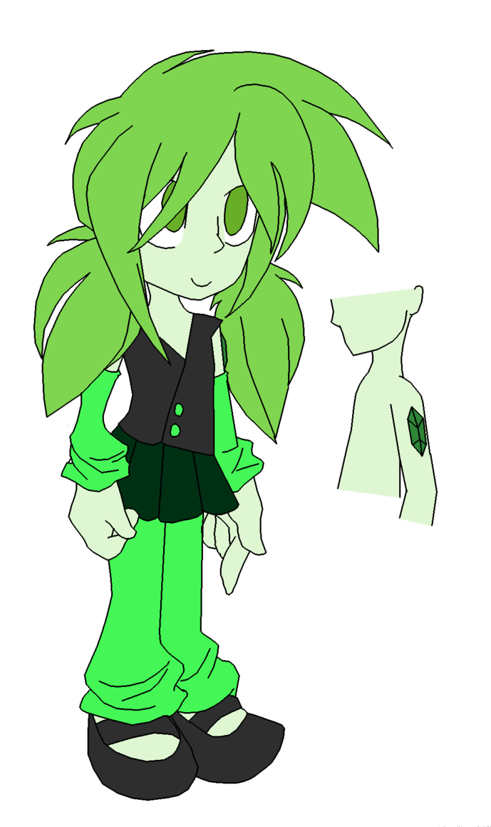 Steven universe fc by. Gem clipart jade