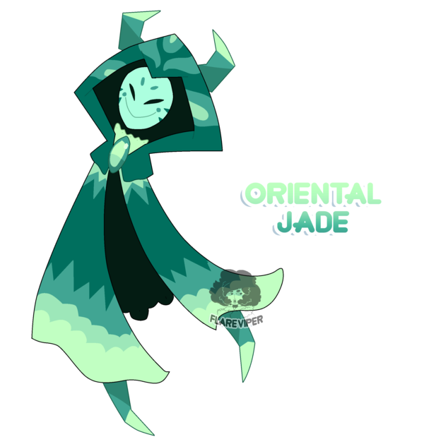 Closed corrupted adoptable by. Gem clipart jade
