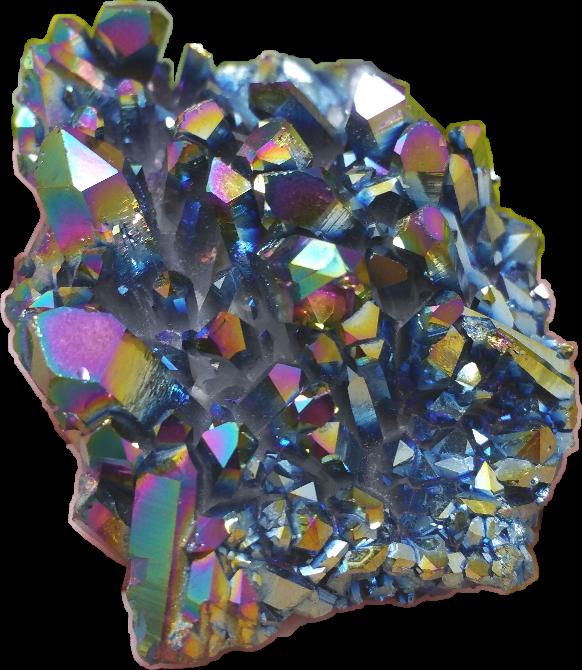 Gem clipart neon. Aesthetic vaporwave stone titanium