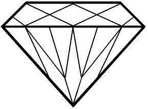 Gem clipart outline. Free gems cliparts download