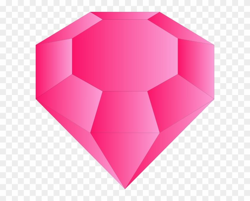 Gem clipart pink gem. Small hd png download