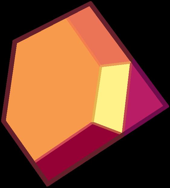 Image orangegarnetsuniverse png steven. Gem clipart red gem