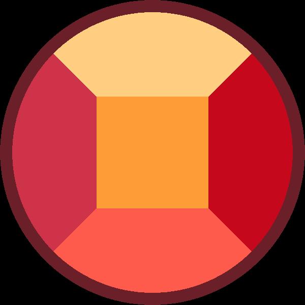 Gem clipart red gem. Image pruskite ruby gemstone