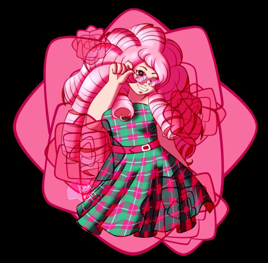 Gem clipart rose colored. Su glasses by pinkcappanda