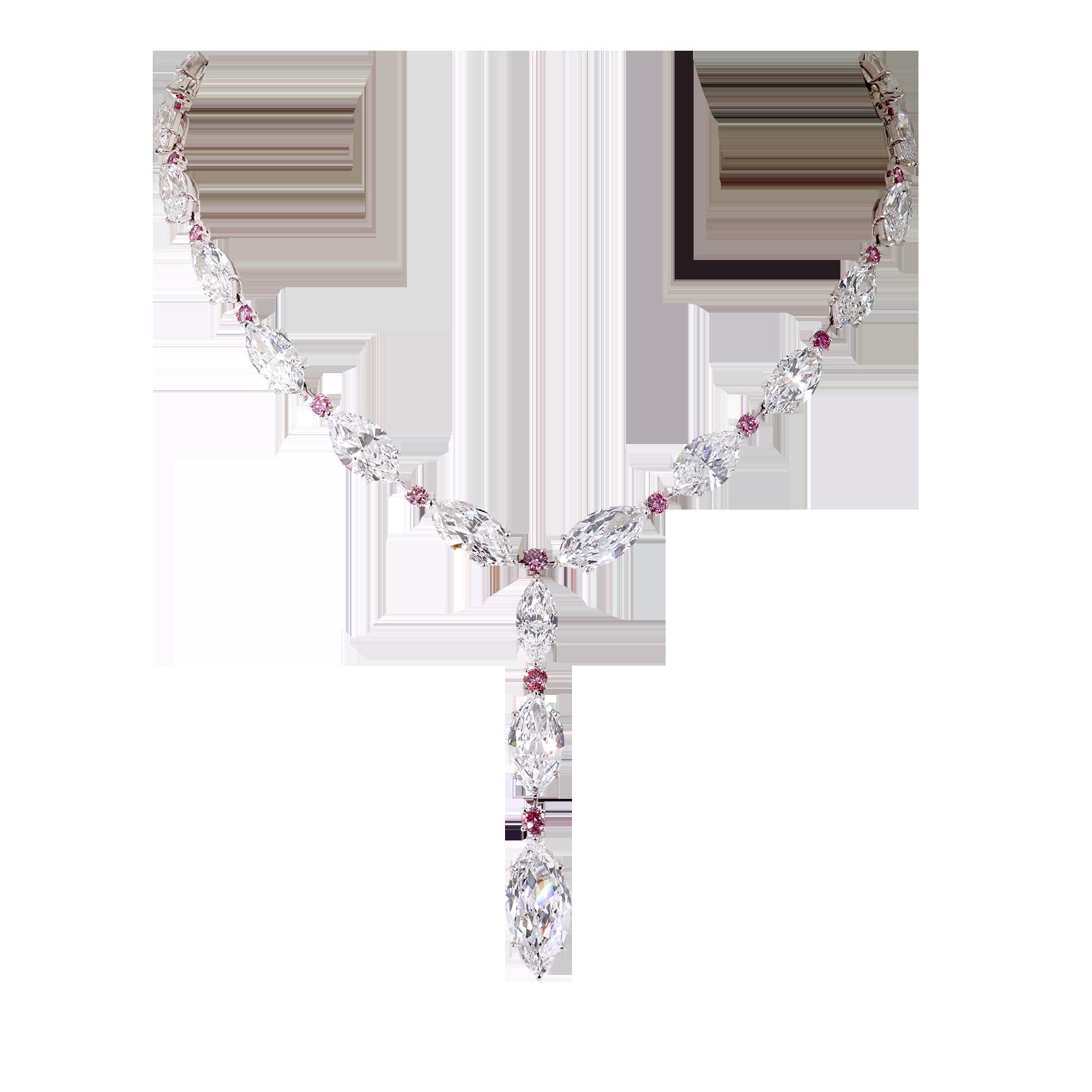 Gem clipart ruby necklace. Luxury necklaces diamond moussaieff