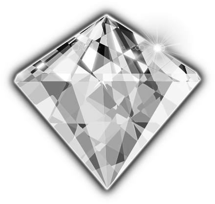 Clip art free panda. Gem clipart silver diamond