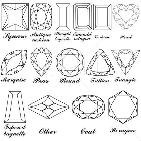 Gem clipart square gem. Gemstone clipa jewelry design