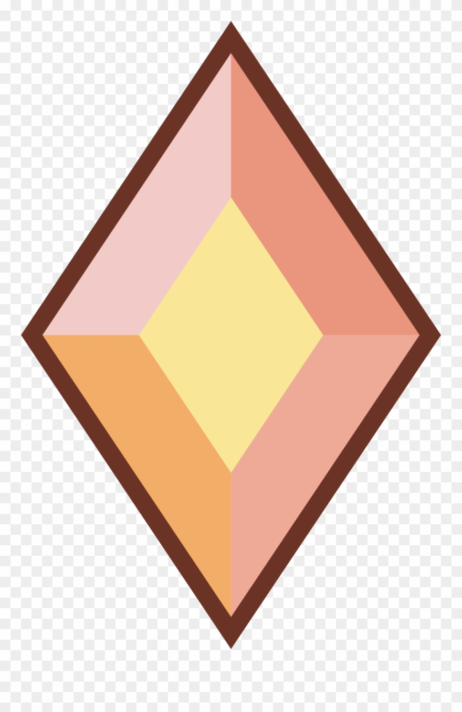Yellow diamond . Gem clipart steven universe