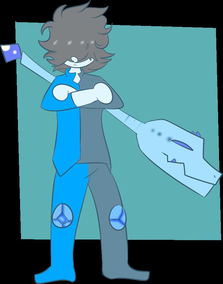 Crystal oc blue by. Gem clipart topaz