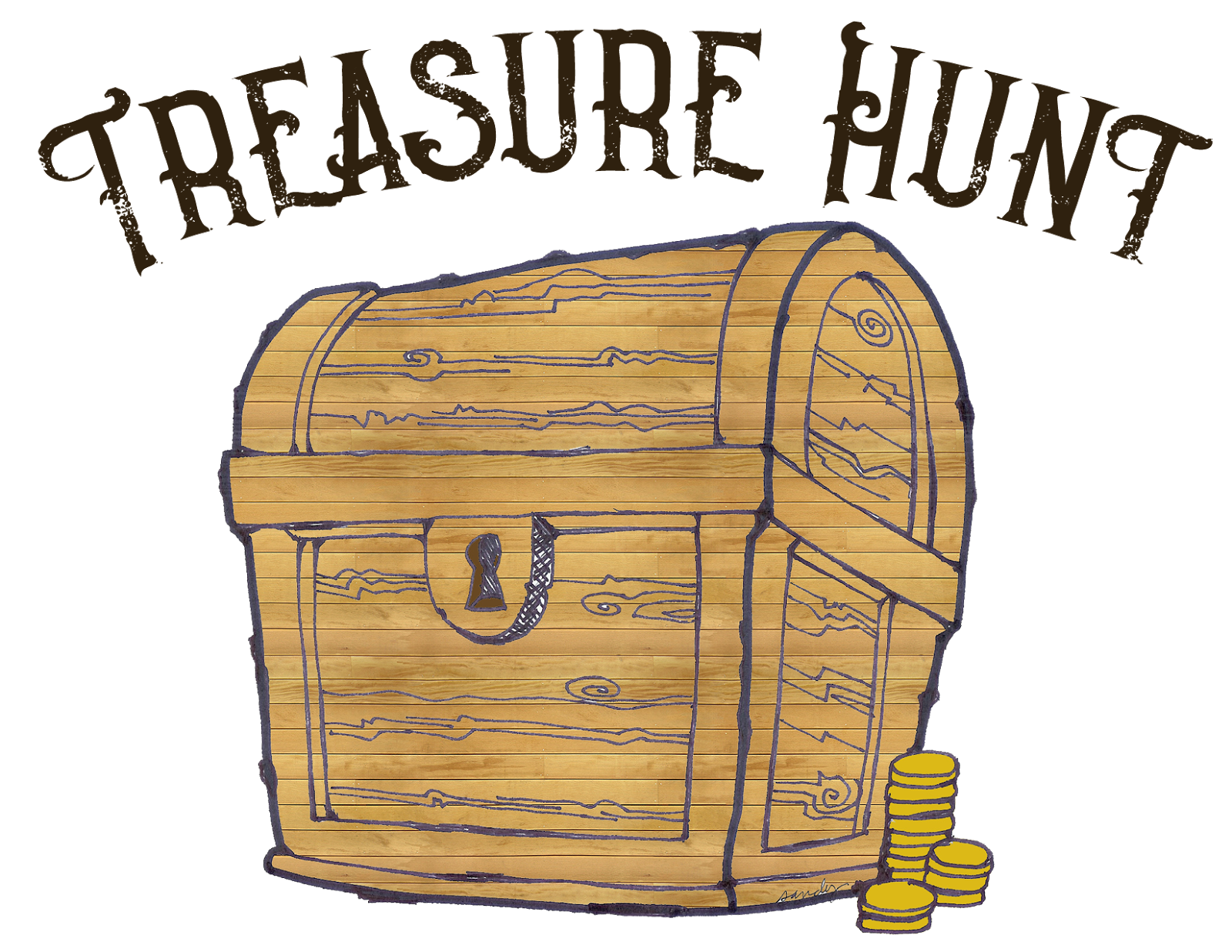 Scribbles designs challenge blog. Treasure clipart treasure room