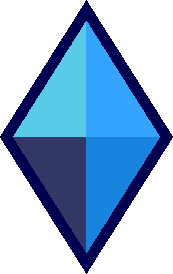 Image shattuckite ice png. Gem clipart triangle