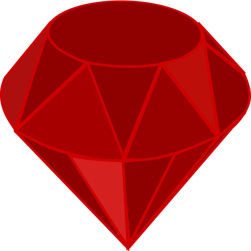 Treasure clipart jewls. Red ruby no transparency