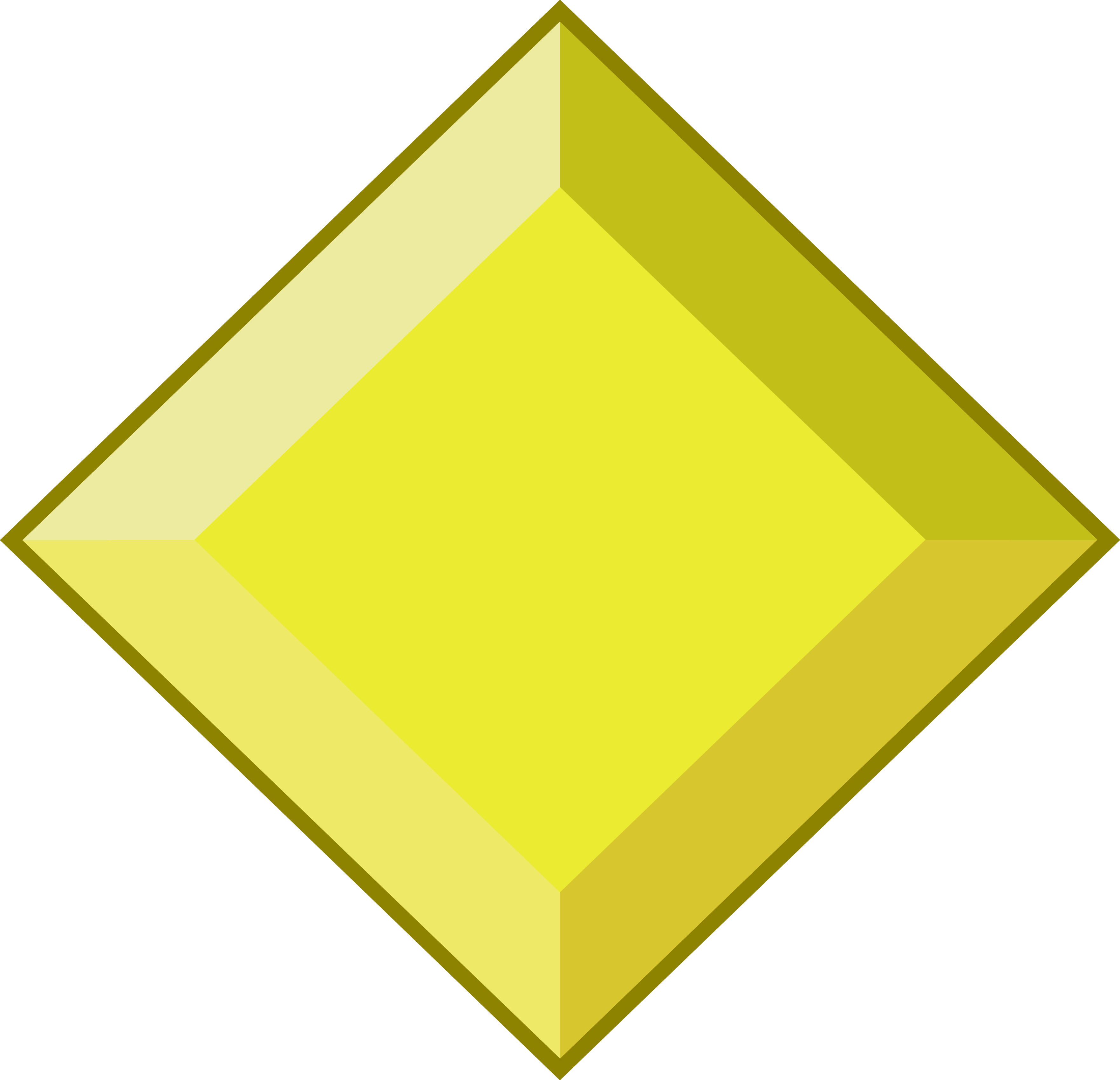 Annual reminder that we. Gem clipart yellow gem