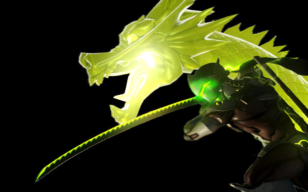 Genji overwatch png. Render by popokupingupop on
