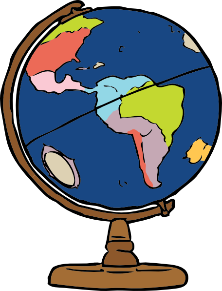 Globe images clipartfest things. Geography clipart