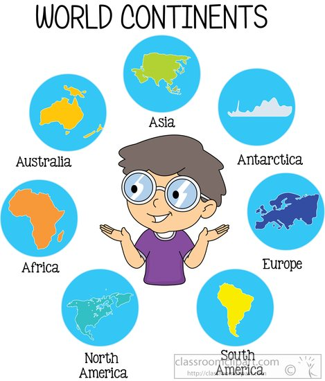 7 clipart seven. World free geography clip