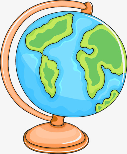 Globe cartoon creative png. Geography clipart