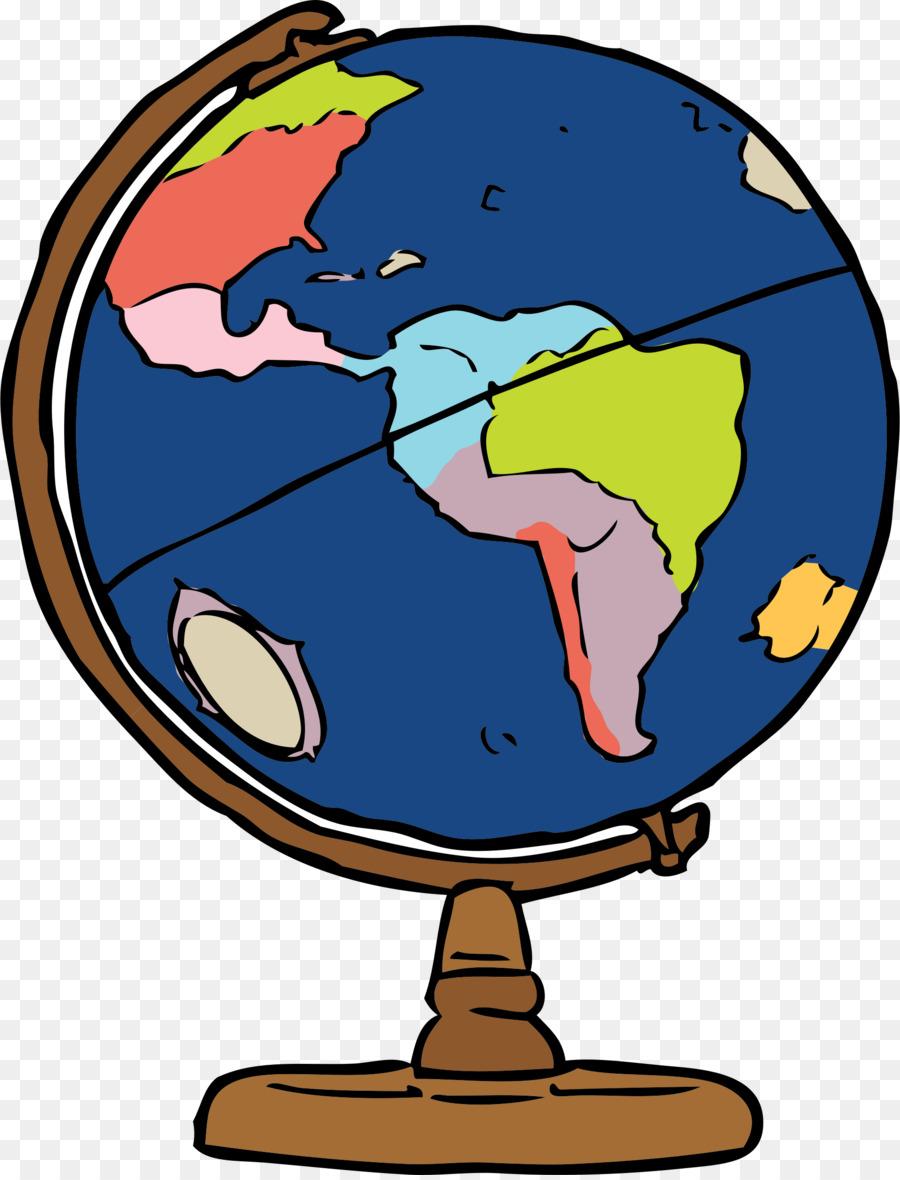 Clipart globe geography. Cartoon world transparent