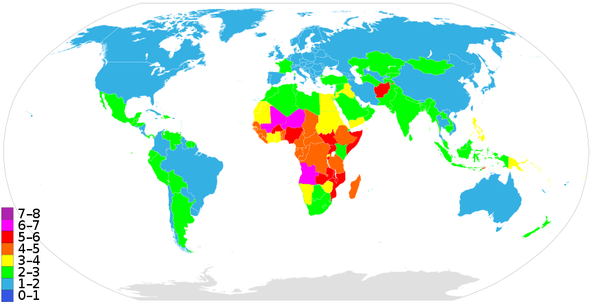 Countriesbyfertilityrate list of sovereign. Geography clipart ap human geography