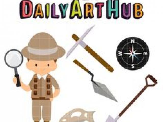 Free download clip art. Geography clipart archaeologist tool