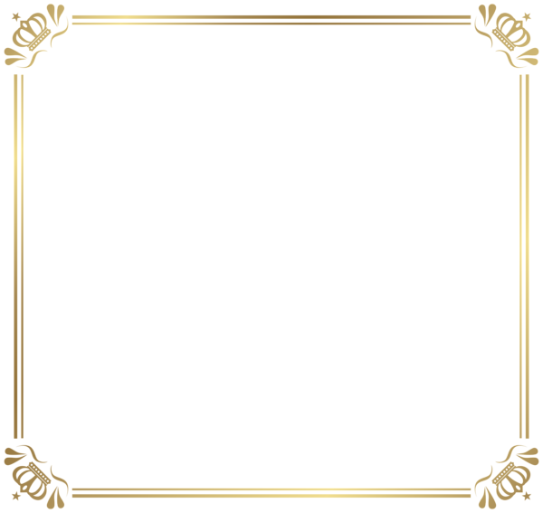 Frame with crowns png. Geography clipart border