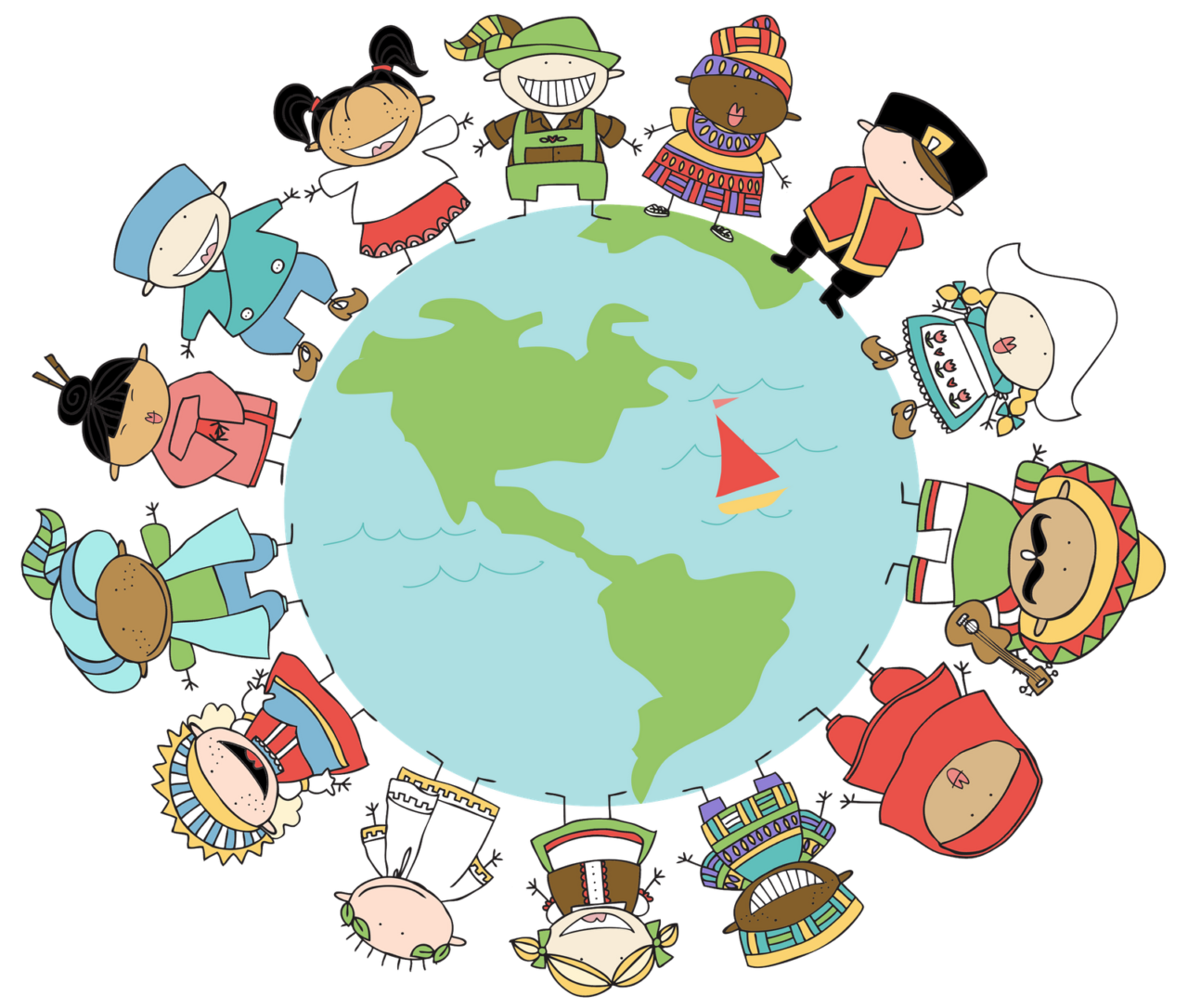 Connecting students global connections. Geography clipart current event