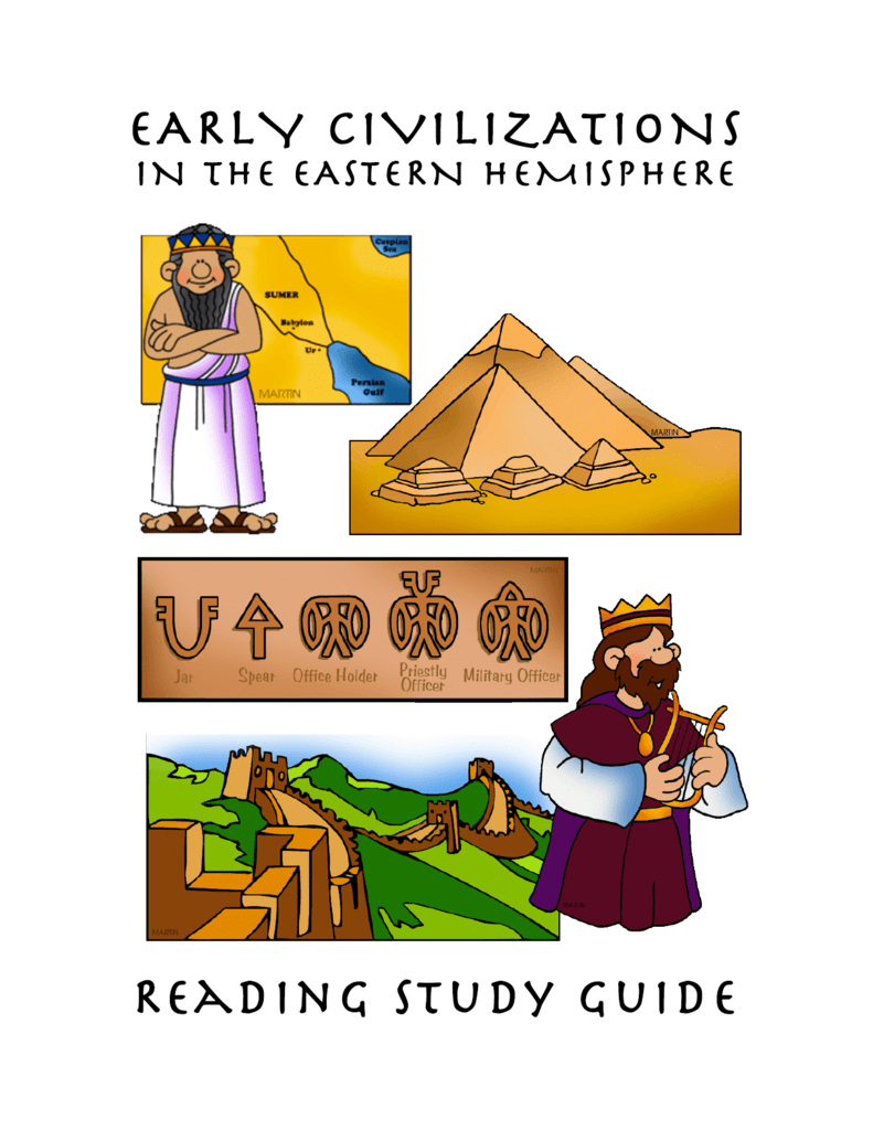 Civilizations reading study guide. Geography clipart early civilization