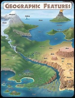 Best for kids maps. Geography clipart geographical feature