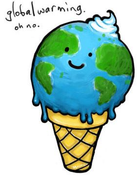 Geography clipart geography project. Global warming ice cream