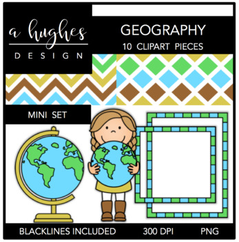 Mini bundle a hughes. Geography clipart geography project