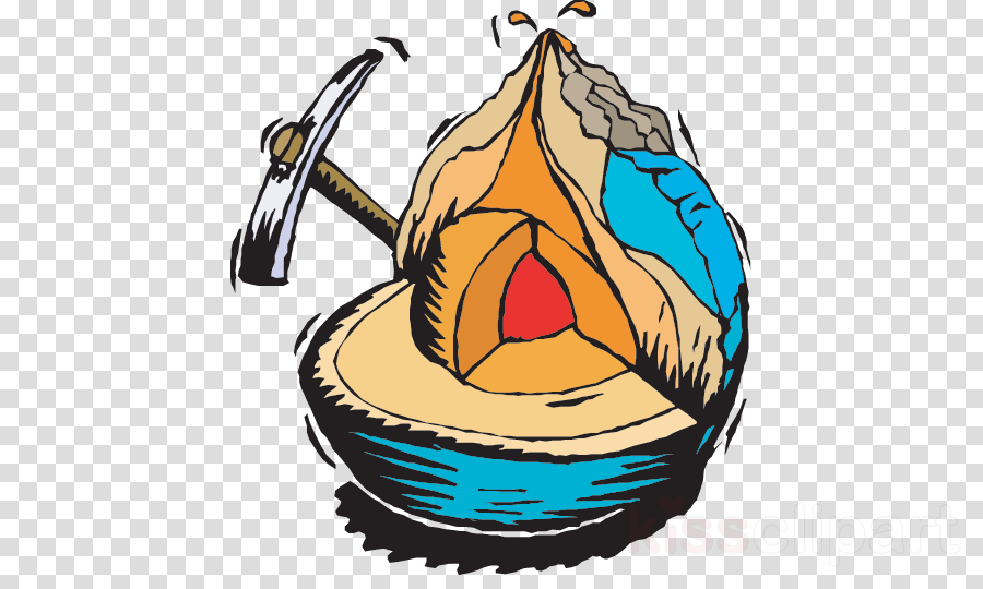 Volcano food png image. Geology clipart transparent