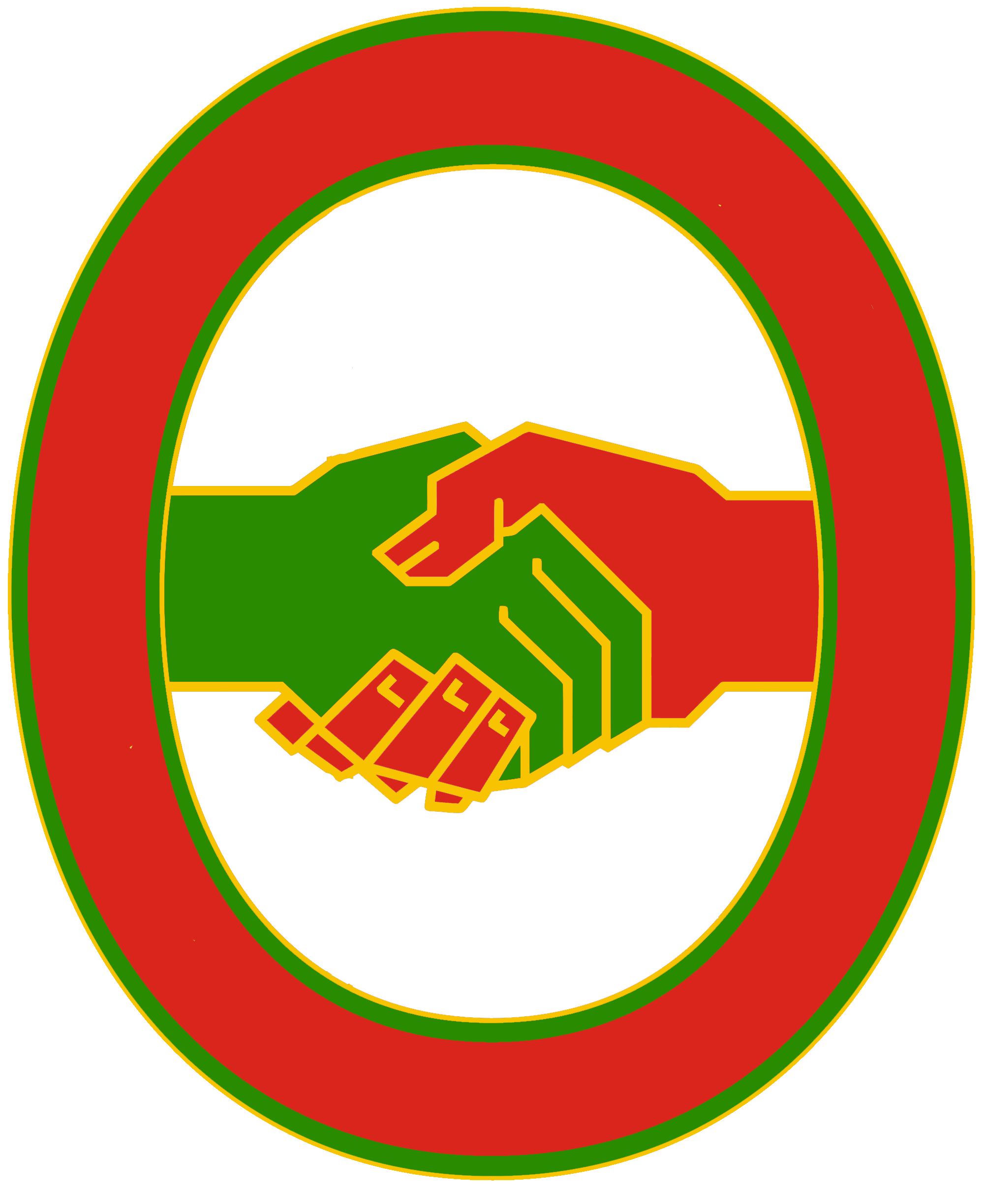 United workers front constructed. Geography clipart real world