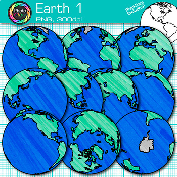 Geography clipart seven. Earth clip art globes